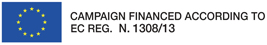Campaign Financed According To Ec Reg. N.1308/13